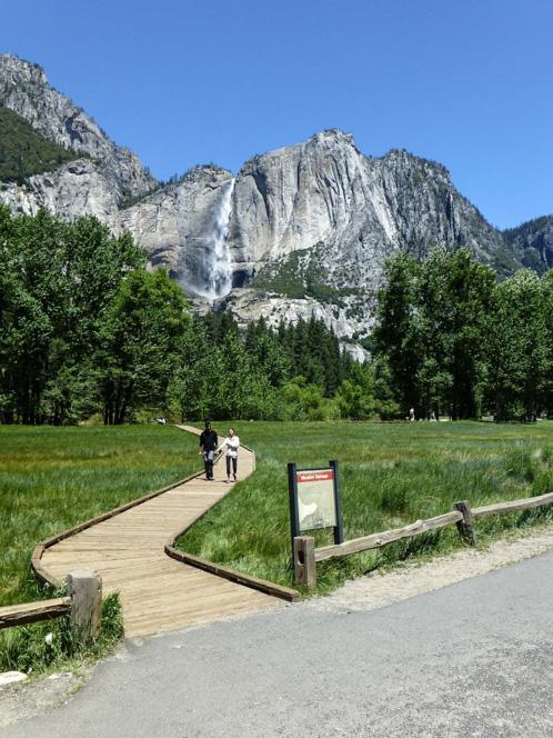Yosemite Falls Again